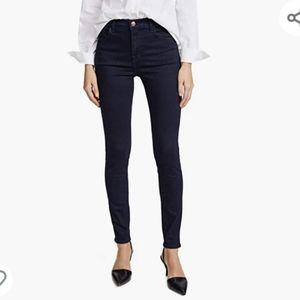 J Brand Maria High-Rise Super Skinny Jeans Darkness Size 31